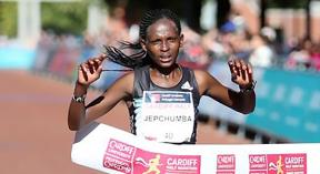 Jepchumba retains her 2016 momentum to dominate in Cardiff