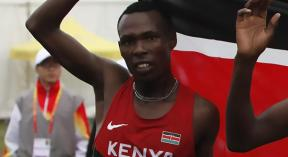 karoki defends title at the Nike Eldoret Discovery Cross Country