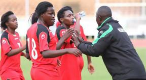 Harambee Starlets lose to Indomitable Lionesses by a solitary goal.