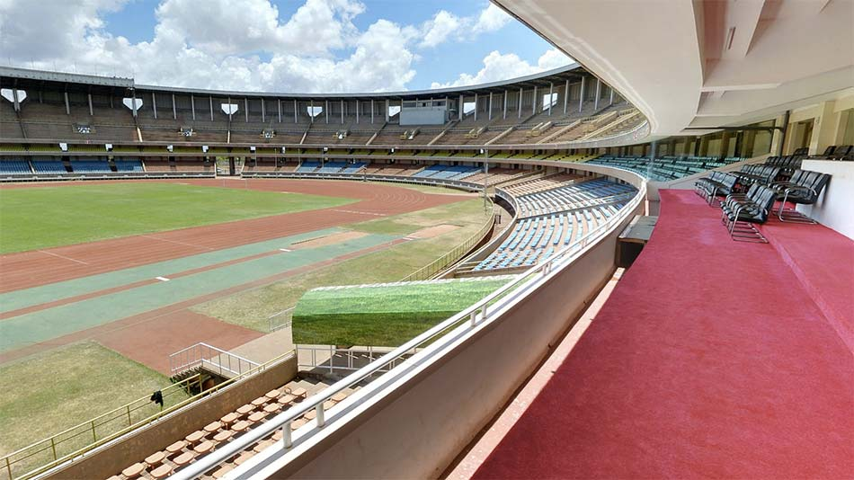 Kasarani Safaricom Stadium View from VIP lounge